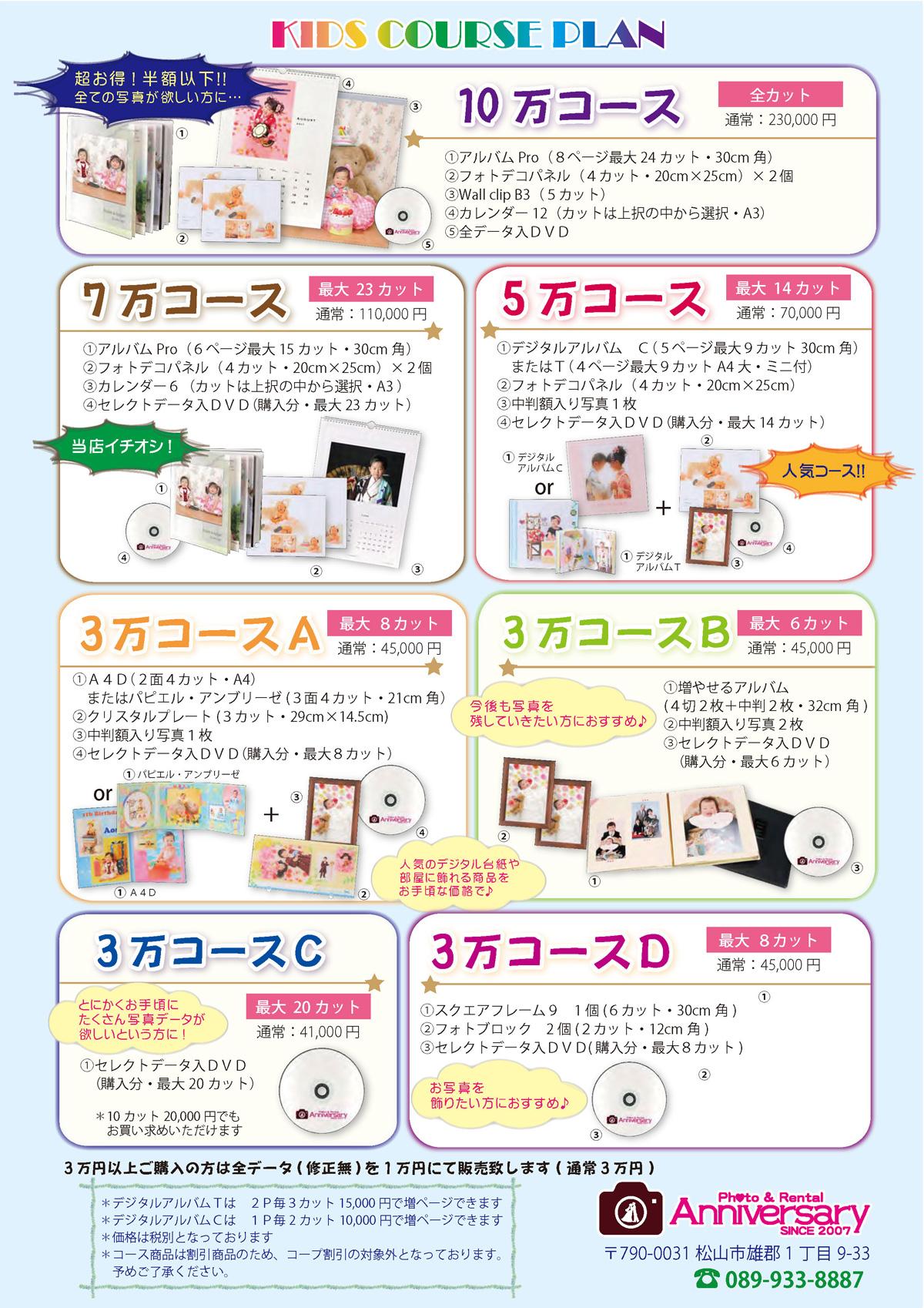 Photo Pack Plan